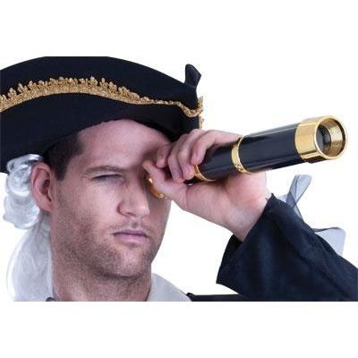 Pirate Telescope - The Costume Company | Fancy Dress Costumes Hire and Purchase Brisbane and Australia