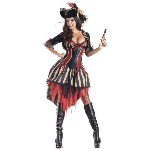 Pirate Wench Costume - Hire - The Costume Company | Fancy Dress Costumes Hire and Purchase Brisbane and Australia