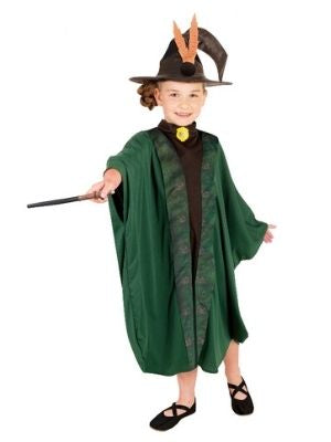 Professor McGonagall Child Costume Robe - Buy Online Only