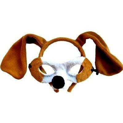 Puppy - Headband and Mask Set - The Costume Company | Fancy Dress Costumes Hire and Purchase Brisbane and Australia