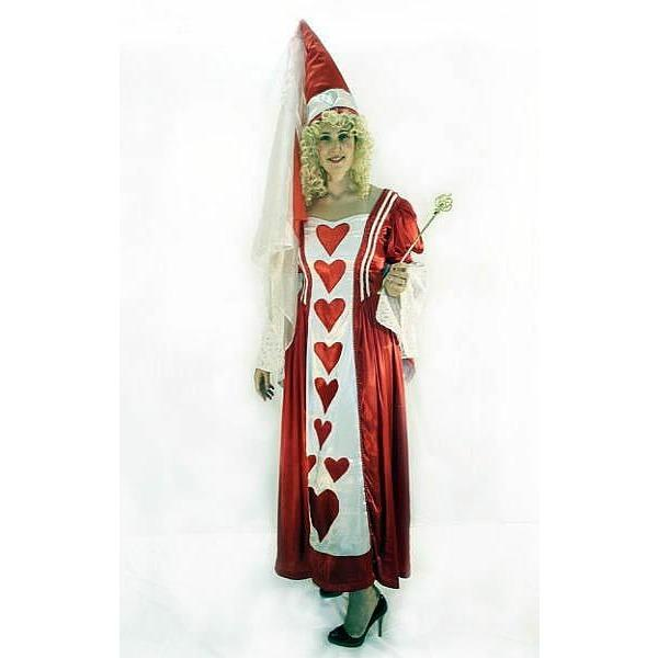 Queen of Hearts Costume - Hire - The Costume Company | Fancy Dress Costumes Hire and Purchase Brisbane and Australia