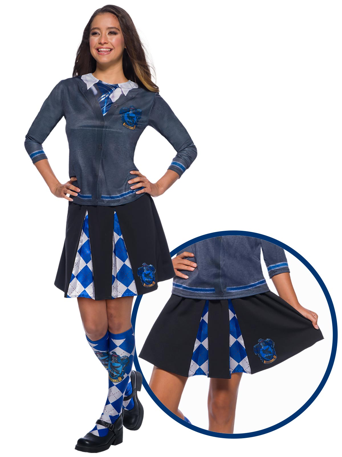 Ravenclaw Costume Skirt  - Buy Online Only