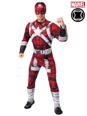 Red Guardian Deluxe Costume - Buy Online Only - The Costume Company | Australian & Family Owned