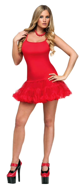Ra Ra Red Dress Costume - Buy