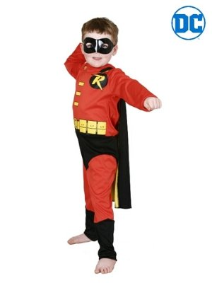 Robin DC Costume Child - Buy Online Only - The Costume Company | Australian & Family Owned
