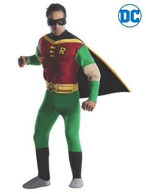 Robin Deluxe Costume - Buy Online Only - The Costume Company | Australian & Family Owned