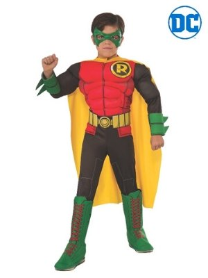 Robin Deluxe Costume Child - Buy Online Only - The Costume Company | Australian & Family Owned