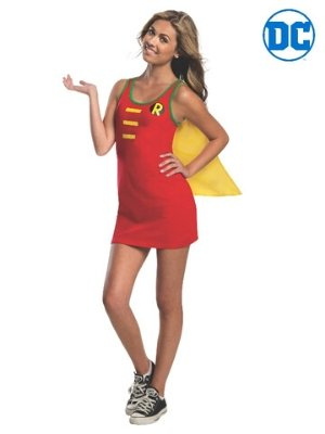 Robin Tank Dress Costume - Buy Online Only - The Costume Company | Australian & Family Owned
