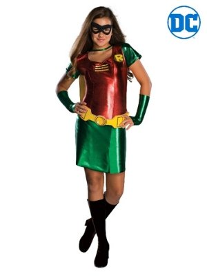 Robin Teen Titans Costume - Buy Online Only - The Costume Company | Australian & Family Owned
