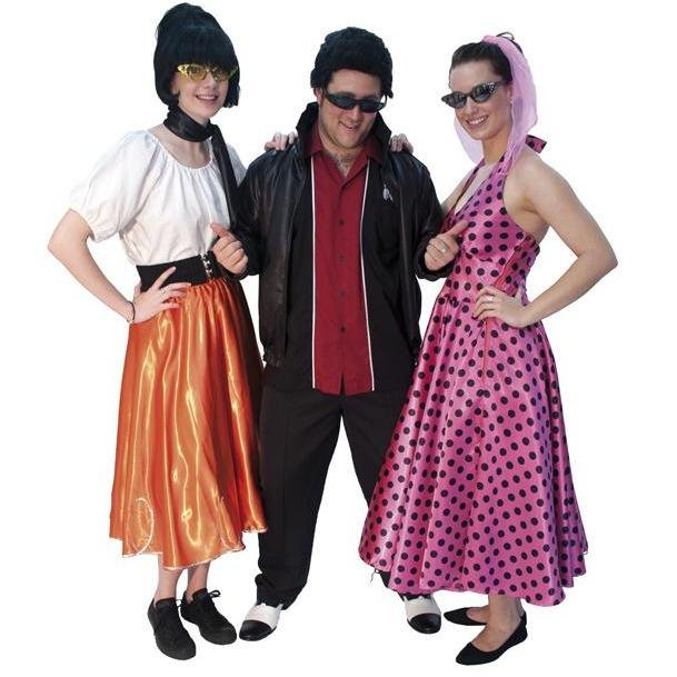 Rockabilly Gang 1950s Costumes - Hire - The Costume Company | Fancy Dress Costumes Hire and Purchase Brisbane and Australia