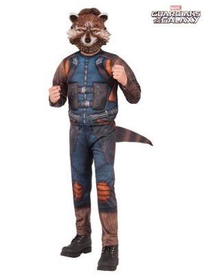 Rocket Raccoon Deluxe Child Costume - Buy Online Only - The Costume Company | Australian & Family Owned
