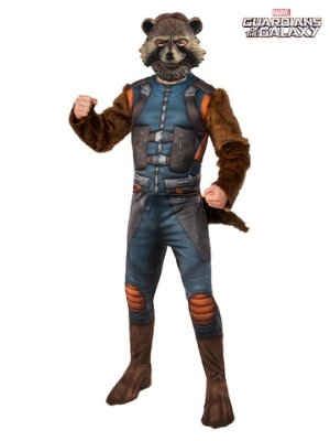 Rocket Raccoon Deluxe Costume - Buy Online Only - The Costume Company | Australian & Family Owned