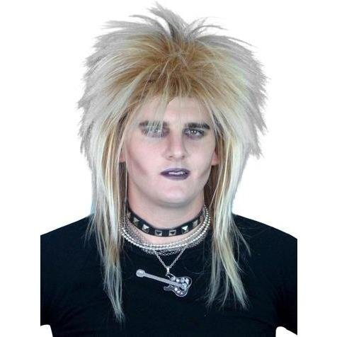 Rockstar Mullet 80s Wig - The Costume Company | Fancy Dress Costumes Hire and Purchase Brisbane and Australia