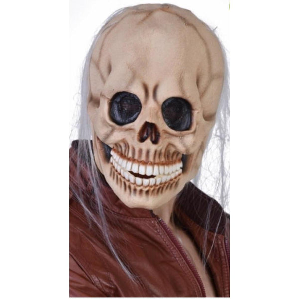 Skeleton Zombie Mask - The Costume Company | Fancy Dress Costumes Hire and Purchase Brisbane and Australia