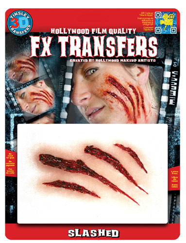 Slashed 3D Transfers - Buy Online Only
