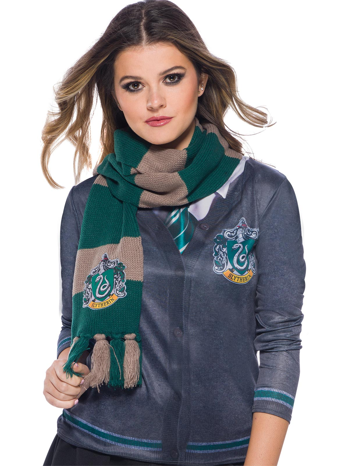 Harry Potter Slytherin House Deluxe Scarf - Buy Online Only