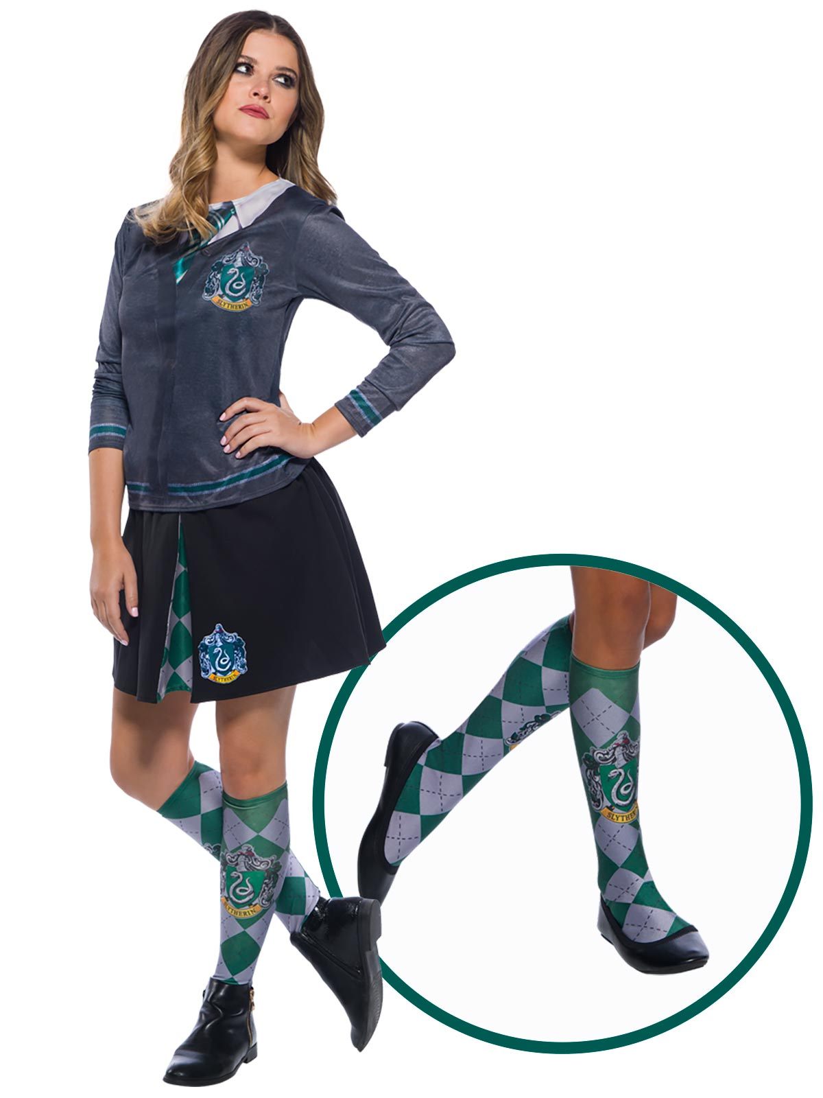Harry Potter Slytherin House Socks - Buy Online Only