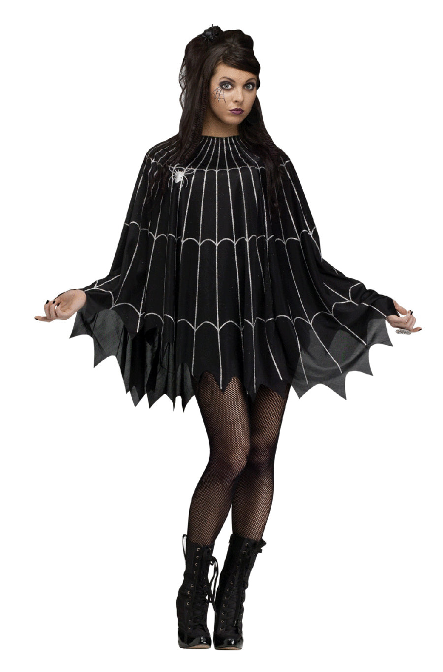 Spiderweb Poncho Costume - Buy