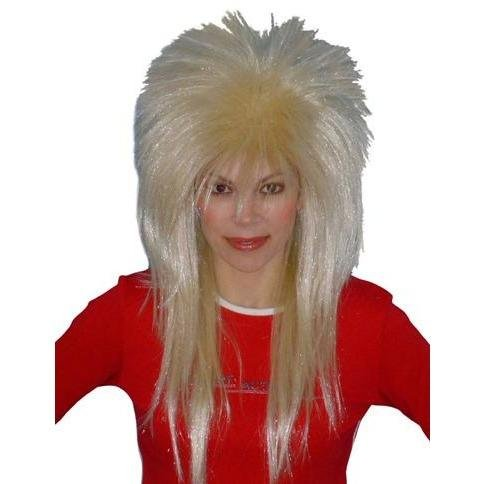 Spiky Vamp Blonde Wig - The Costume Company | Fancy Dress Costumes Hire and Purchase Brisbane and Australia