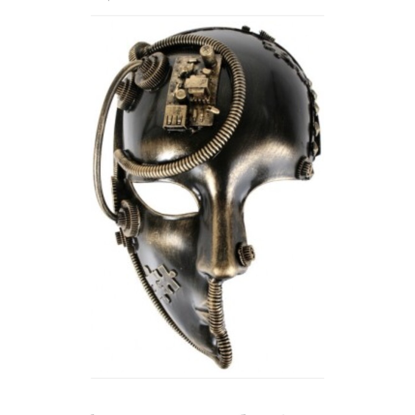 Steam Punk Masquerade Mask - The Costume Company | Fancy Dress Costumes Hire and Purchase Brisbane and Australia