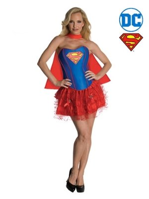 Supergirl Secret Wishes Tutu Costume - Buy Online Only - The Costume Company | Australian & Family Owned