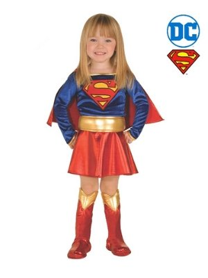 Supergirl Toddler Costume - Buy Online Only - The Costume Company | Australian & Family Owned