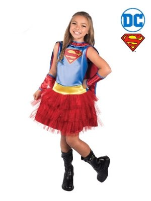 Supergirl Tutu Dress Child Costume - Buy Online Only - The Costume Company | Australian & Family Owned