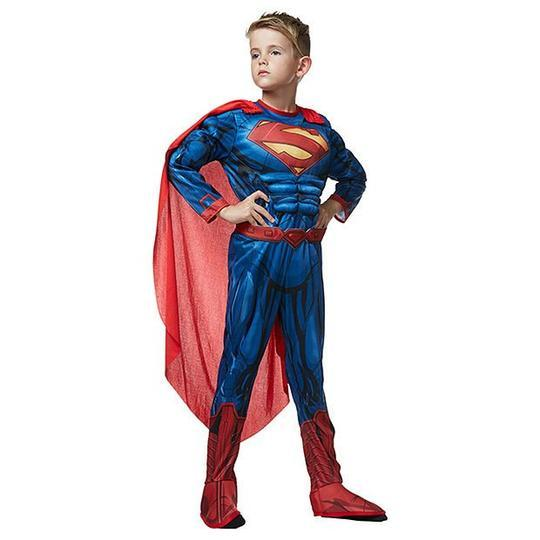 Superman Deluxe Child - The Costume Company | Fancy Dress Costumes Hire and Purchase Brisbane and Australia