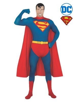 Superman Morph Suit Costume - Buy Online Only - The Costume Company | Australian & Family Owned