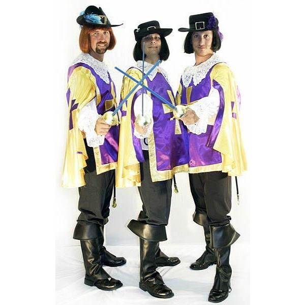 The Three Musketeers Costume - Hire - The Costume Company | Fancy Dress Costumes Hire and Purchase Brisbane and Australia