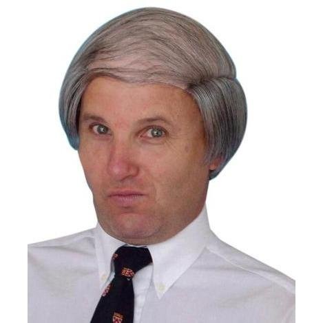 Tragic Combover Grey Wig - The Costume Company | Fancy Dress Costumes Hire and Purchase Brisbane and Australia