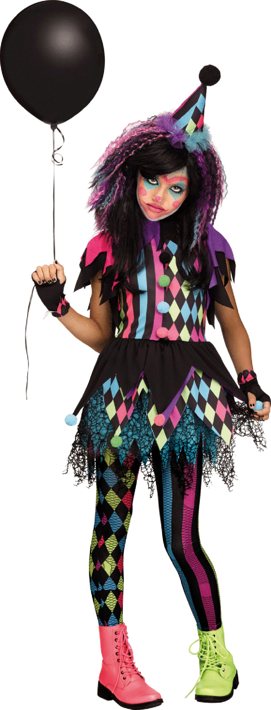 Twisted Circus Tween Deluxe Costume - Buy
