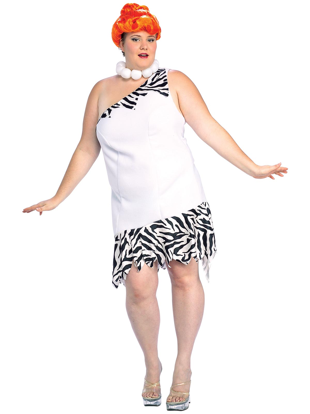 Wilma Plus Size The Flintstones Costume - Buy Online Only