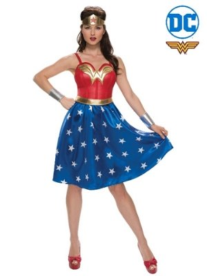 Wonder Woman Classic Deluxe Costume - Buy Online Only - The Costume Company | Australian & Family Owned
