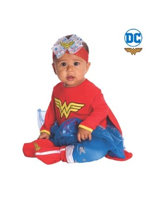Wonder Woman Costume Baby Onesie - Buy Online Only - The Costume Company | Australian & Family Owned