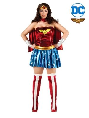 Wonder Woman Deluxe Plus Size Costume - Buy Online Only - The Costume Company | Australian & Family Owned