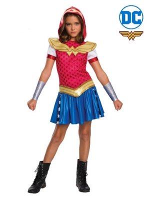 Wonderwoman Hoodie Costume - Buy Online Only - The Costume Company | Australian & Family Owned