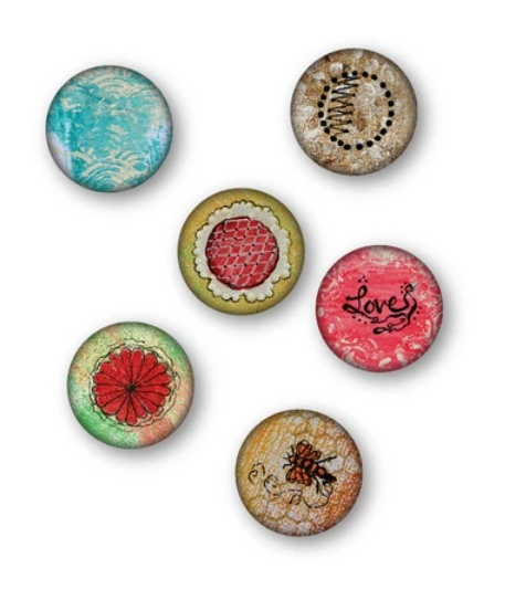 Wild Whisper Designs - Flair Buttons - Simplicity