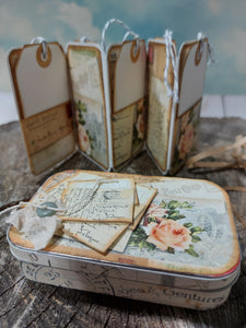 Altered Tin ~ Letters