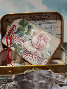 Altered Tins ~ Signature Perfume Love Notes, February ~ Limited Edition