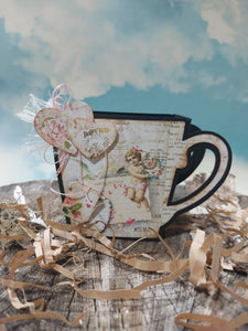 Valentine 3d Tea Cup kit