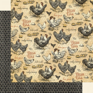 Graphic 45 - Farmhouse Collection - Locally Grown 4502056