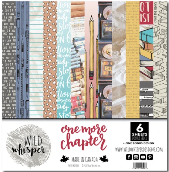 Wild Whisper Designs - 12x12 Paper Pack - One More Chapter