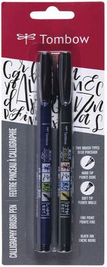 Tombow - Calligraphy Brush Pens - 2 Pack