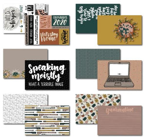 Wild Whisper Designs - Double Card Pack- 6 Feet Apart