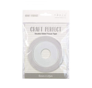 Tonic Studios - Craft Perfect - Double Sided Tissue Tape 6mm