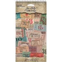 Tim Holtz - Idea Ology - Ticket Book