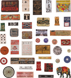 Tim Holtz - Idea Ology - Baseboards, Junk Drawer