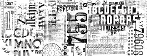 Tim Holtz - Idea Ology - Collage Paper - Typeset