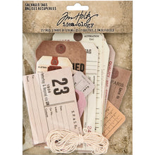 Tim Holtz - Idea Ology - Salvaged Tags
